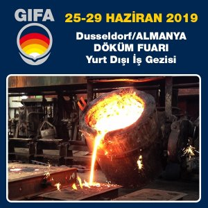 Gifa Düsseldorf 25. - 29. June 2019 | Foundry trade fair